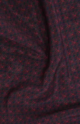 Мужской шелковый платок GUCCI красного цвета, арт. 573510/4G005 | Фото 2