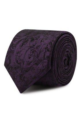 Мужской шелковый галстук DOLCE & GABBANA фиолетового цвета, арт. GT149E/G0JK0 | Фото 1