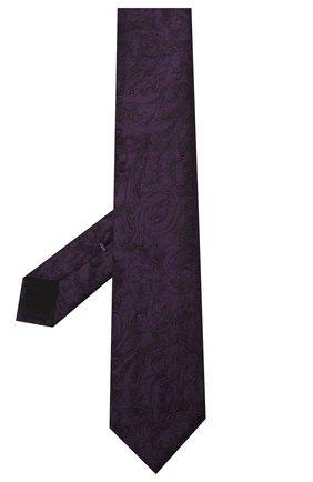 Мужской шелковый галстук DOLCE & GABBANA фиолетового цвета, арт. GT149E/G0JK0 | Фото 2