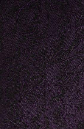Мужской шелковый галстук DOLCE & GABBANA фиолетового цвета, арт. GT149E/G0JK0 | Фото 3