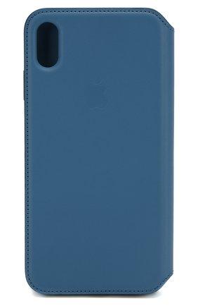Мужской чехол для iphone xs max APPLE  синего цвета, арт. MRX52ZM/A   Фото 2