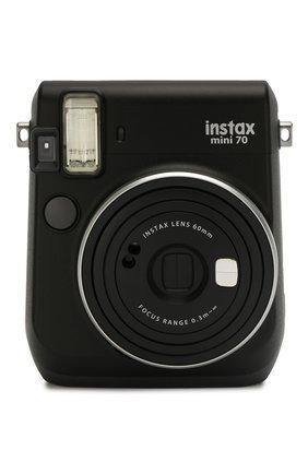Мужская фотоаппарат fujifilm instax mini 70 black INSTAX черного цвета, арт. 4547410321876 | Фото 1