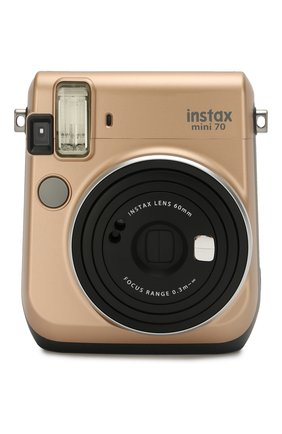 Мужская фотоаппарат fujifilm instax mini 70 gold  INSTAX золотого цвета, арт. 4547410321890 | Фото 1