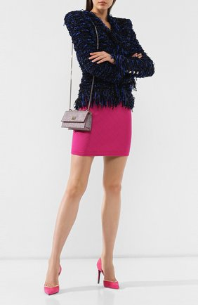 Женский сумка leni JIMMY CHOO розового цвета, арт. LENI/PGW | Фото 2