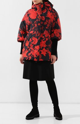 Женские замшевые сапоги PERTINI черного цвета, арт. 192W14218D1   Фото 2