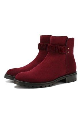 Замшевые ботинки Holst | Фото №1