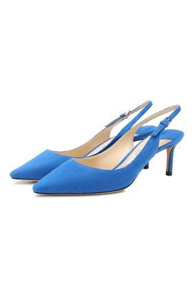 Замшевые туфли Erin 60   Фото №1