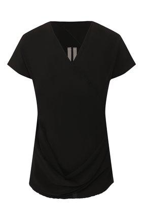 Женская топ RICK OWENS черного цвета, арт. RP19F5112/CC   Фото 1