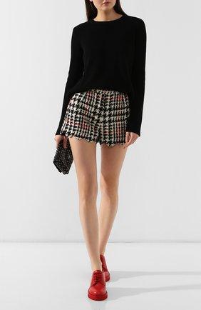 Женские шерстяные шорты REDVALENTINO разноцветного цвета, арт. SR3RFB35/499 | Фото 2