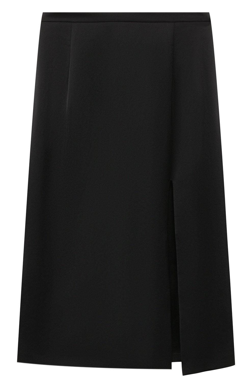 Женская юбка с разрезом PAUL&JOE черного цвета, арт. K0RTENSE   Фото 1
