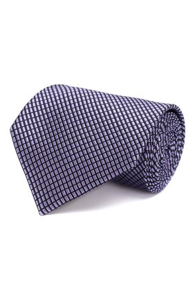 Мужской шелковый галстук ERMENEGILDO ZEGNA фиолетового цвета, арт. Z6E09/1XW | Фото 1