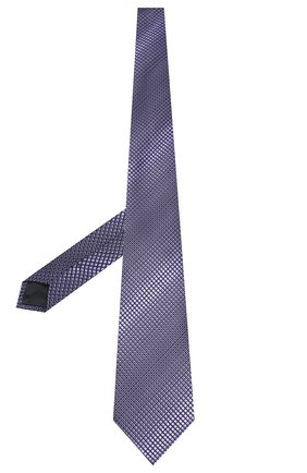 Мужской шелковый галстук ERMENEGILDO ZEGNA фиолетового цвета, арт. Z6E09/1UM | Фото 2