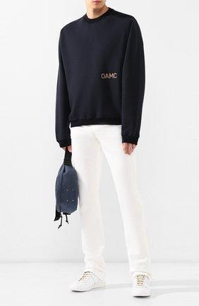 Мужские кожаные кеды MAISON MARGIELA белого цвета, арт. S57WS0280/P2712 | Фото 2