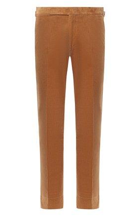 Мужские хлопковые брюки RALPH LAUREN коричневого цвета, арт. 798761759 | Фото 1