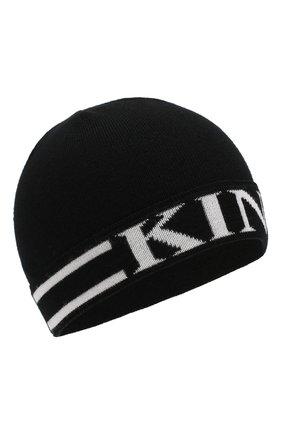 Детского шерстяная шапка DOLCE & GABBANA черно-белого цвета, арт. LBKH17/JAVPF | Фото 1