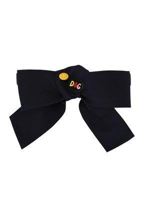 Детский галстук-бабочка DOLCE & GABBANA темно-синего цвета, арт. LB6A61/G7TSG | Фото 1
