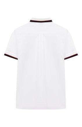 Детская хлопковая рубашка DOLCE & GABBANA белого цвета, арт. L4JS23/G7TVJ/2-6 | Фото 2