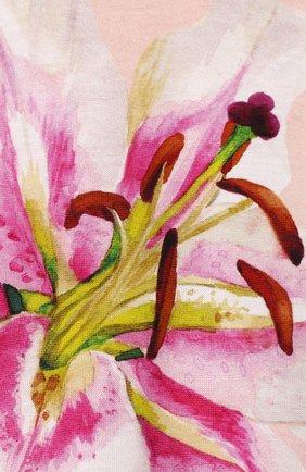 Детское комплект из комбинезона и нагрудника DOLCE & GABBANA светло-розового цвета, арт. L2J0M9/G7TSK   Фото 7