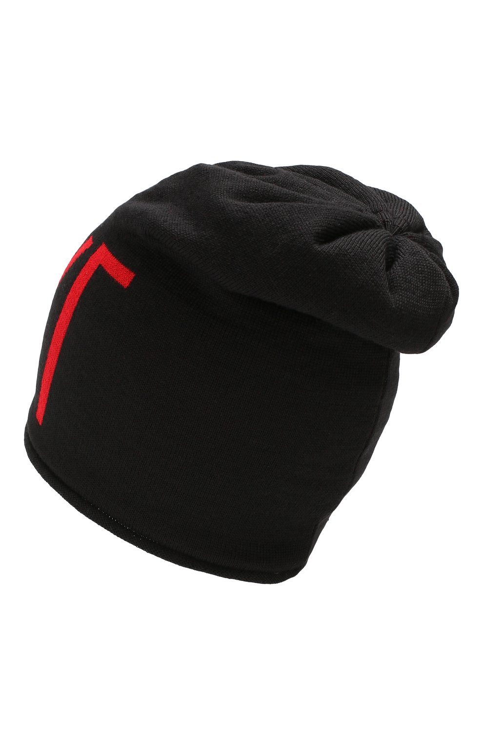 Детского шапка CATYA черного цвета, арт. 923706/P | Фото 2