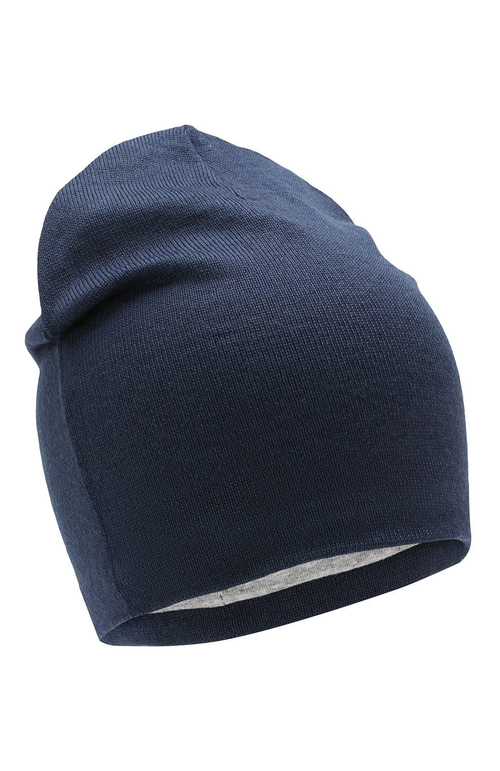 Детского шерстяная шапка CATYA синего цвета, арт. 923690/1   Фото 1