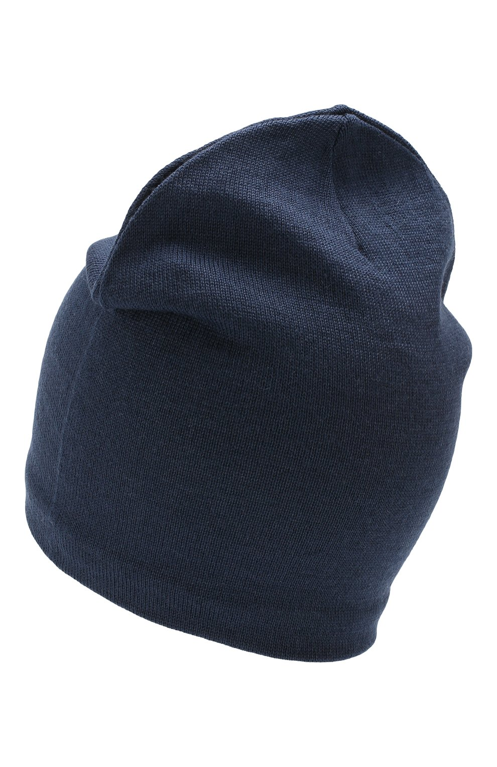 Детского шерстяная шапка CATYA синего цвета, арт. 923690/1   Фото 2