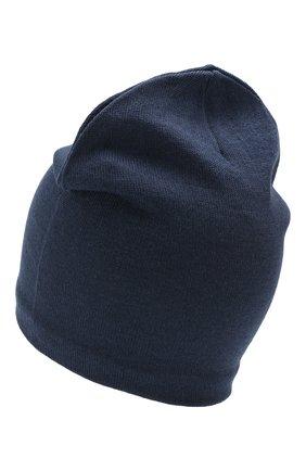 Детского шерстяная шапка CATYA синего цвета, арт. 923690/1 | Фото 2