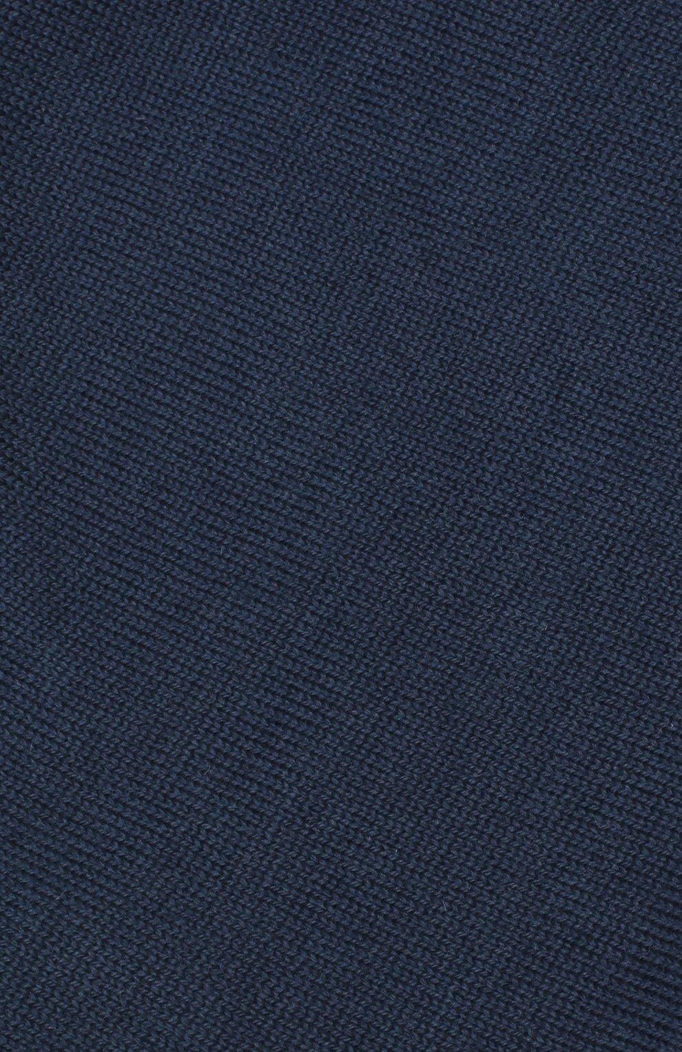 Детского шерстяная шапка CATYA синего цвета, арт. 923690/1   Фото 3