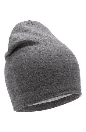 Детского шерстяная шапка CATYA темно-серого цвета, арт. 923690/1 | Фото 1