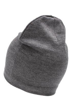 Детского шерстяная шапка CATYA темно-серого цвета, арт. 923690/1 | Фото 2