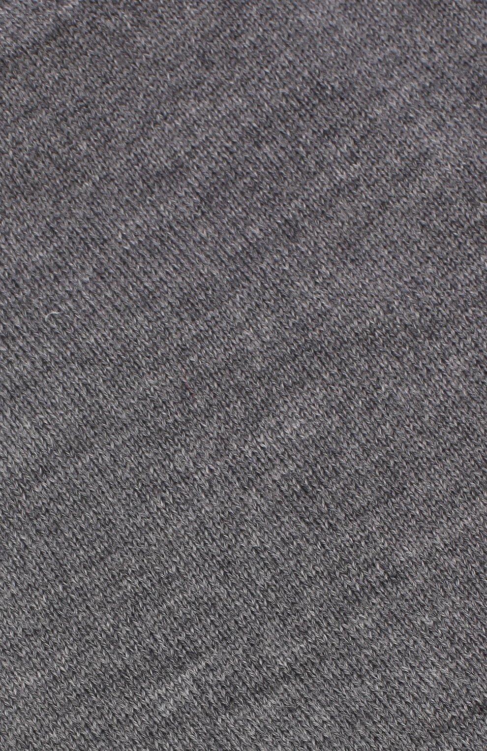 Детского шерстяная шапка CATYA темно-серого цвета, арт. 923690/1   Фото 3
