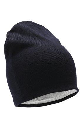 Детского шерстяная шапка CATYA темно-синего цвета, арт. 923690/1 | Фото 1