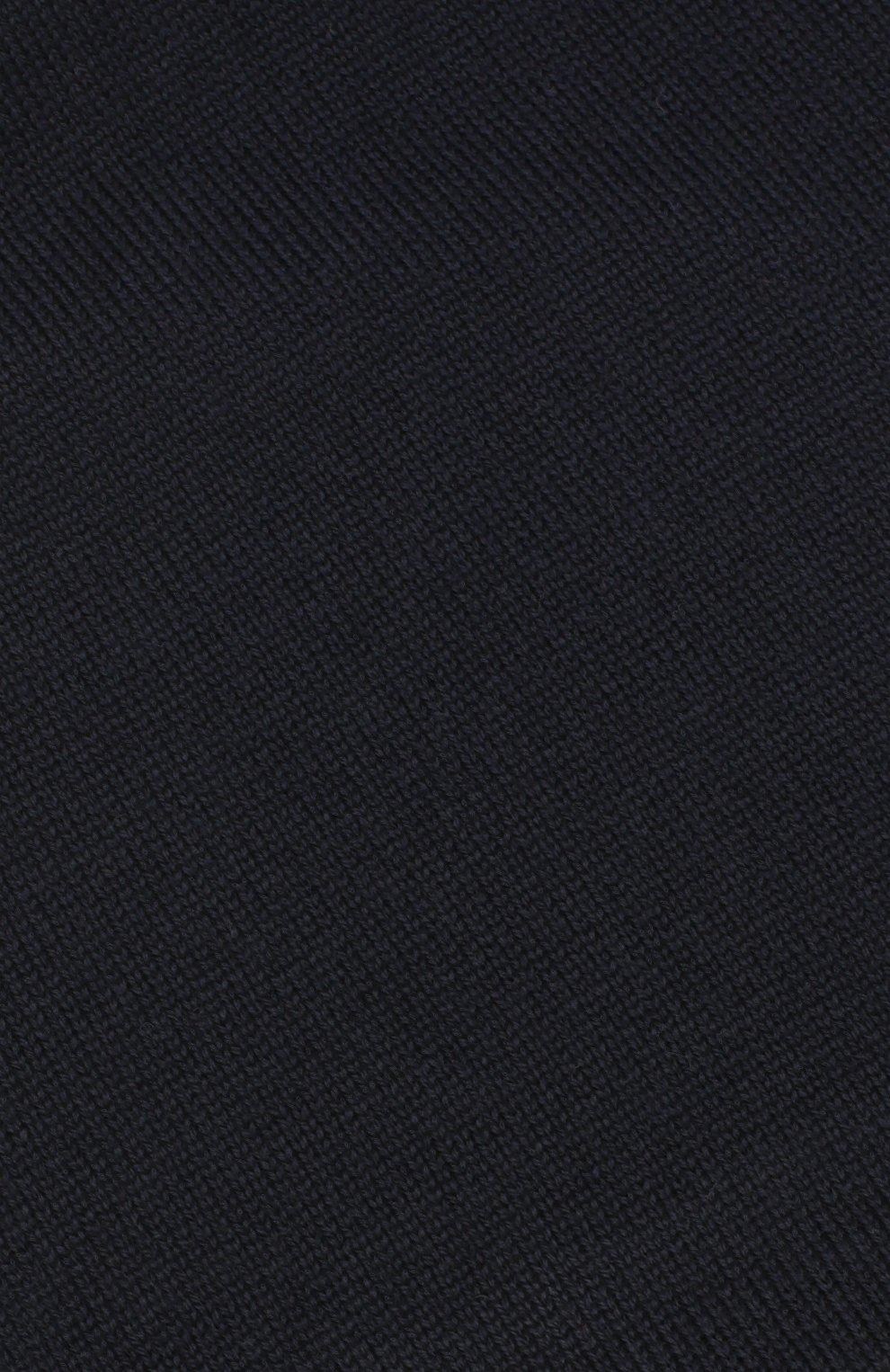Детского шерстяная шапка CATYA темно-синего цвета, арт. 923690/1 | Фото 3