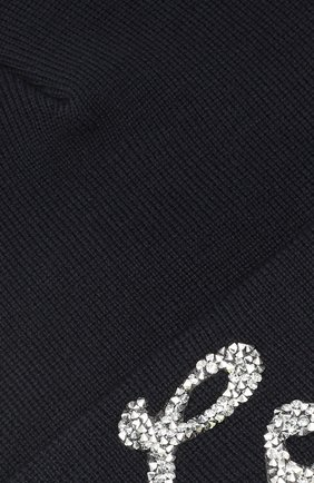 Детского шерстяная шапка CATYA темно-синего цвета, арт. 923522/2 | Фото 3