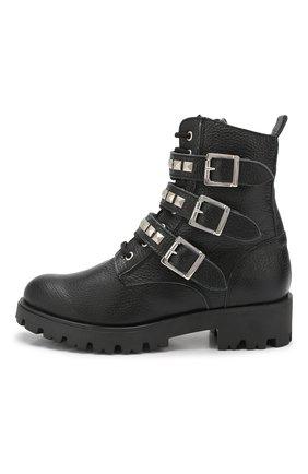 Детские кожаные ботинки TREVIRGOLAZERO 3,0 черного цвета, арт. J0DY/37-40 | Фото 2