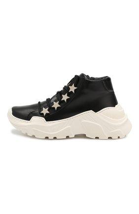 Детские кожаные кроссовки TREVIRGOLAZERO 3,0 черного цвета, арт. EMILY/37-40 | Фото 2