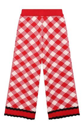 Детского шерстяные брюки GUCCI красного цвета, арт. 580363/XKAVY | Фото 1