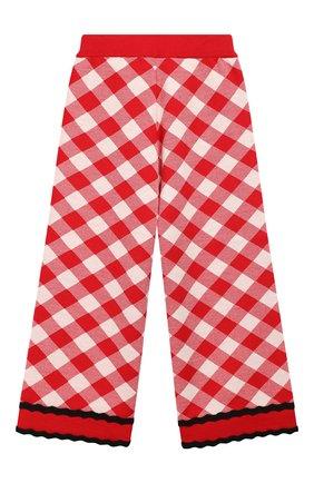 Детского шерстяные брюки GUCCI красного цвета, арт. 580363/XKAVY | Фото 2
