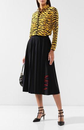 Женская кожаные туфли valentino garavani rockstud VALENTINO черного цвета, арт. ZW2S0375/V0G | Фото 2