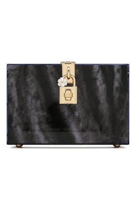 Женская сумка dolce box DOLCE & GABBANA черного цвета, арт. BB6237/AA081 | Фото 1