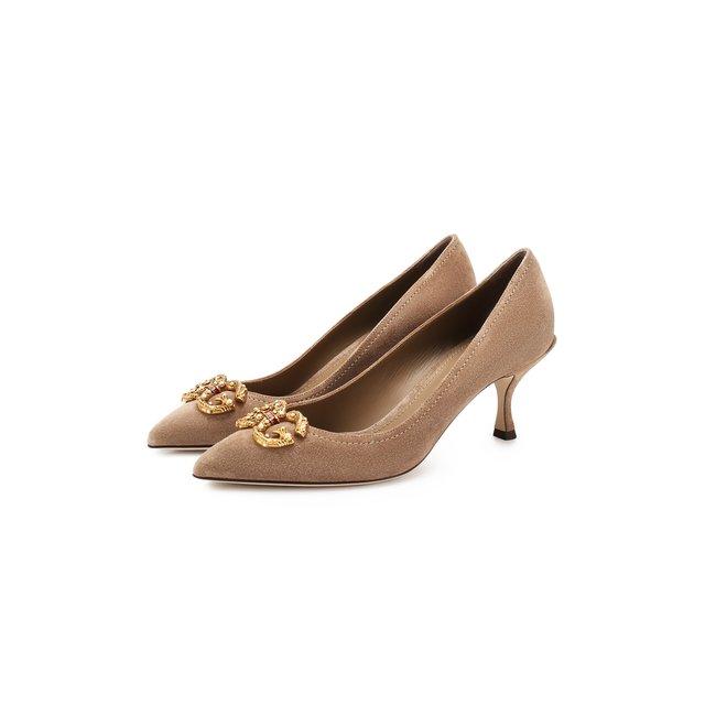 Замшевые туфли Lori Dolce & Gabbana