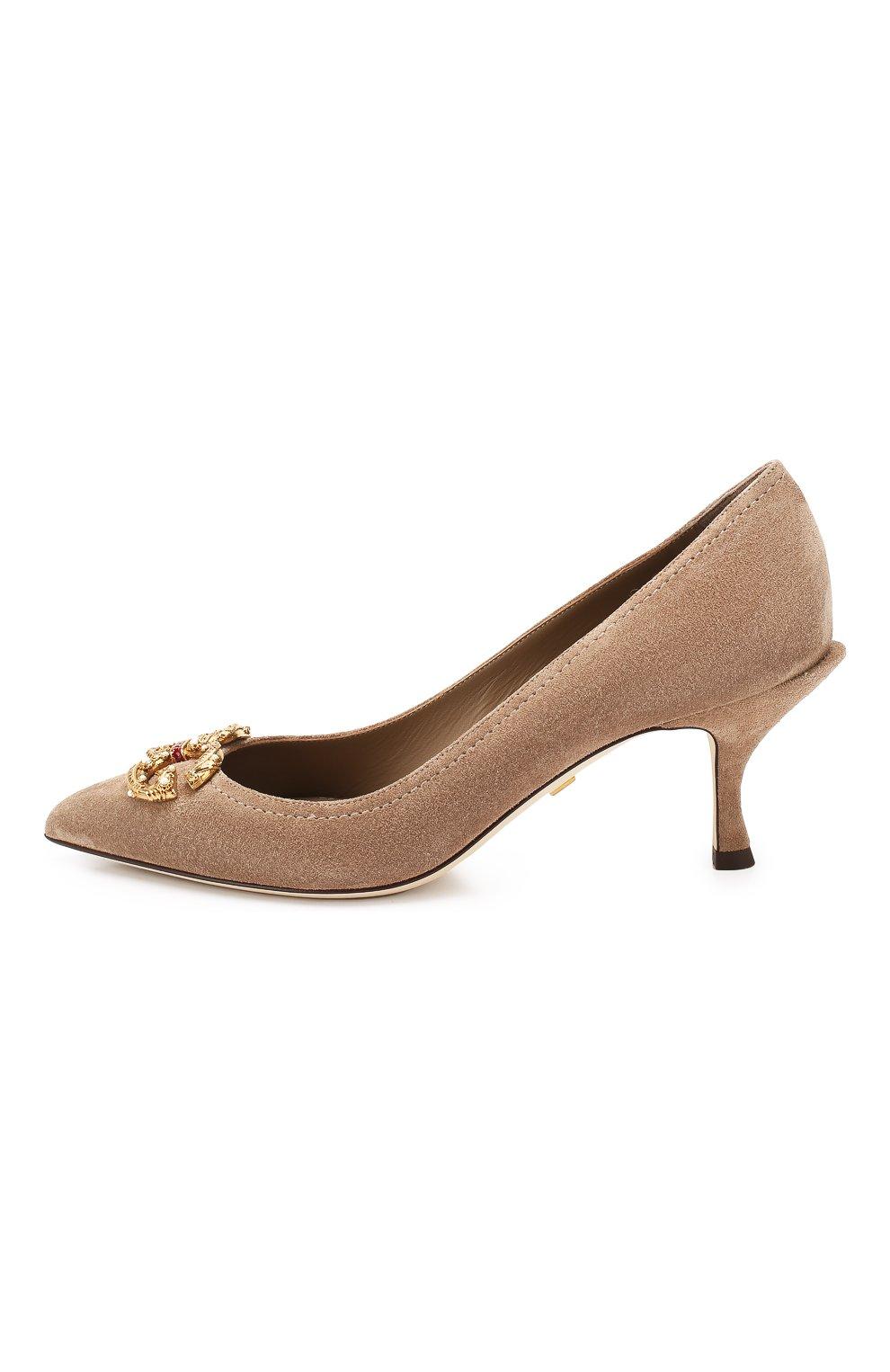 Замшевые туфли Lori | Фото №3