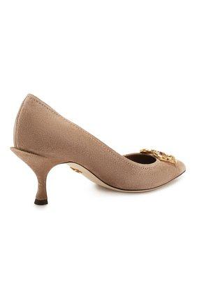 Замшевые туфли Lori | Фото №4