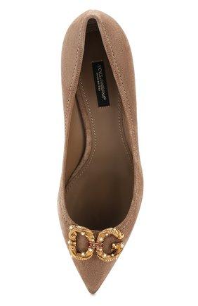Замшевые туфли Lori | Фото №5