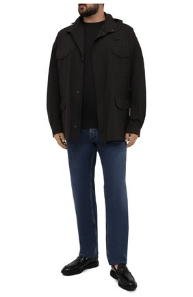 Мужская куртка traveller LORO PIANA черного цвета, арт. FAI1437 | Фото 2