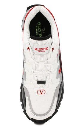 Мужские комбинированные кроссовки valentino garavani climbers VALENTINO белого цвета, арт. SY2S0C20/RIC | Фото 5