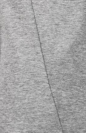 Мужская хлопковая футболка VALENTINO серого цвета, арт. SV3MG02D5GT   Фото 5