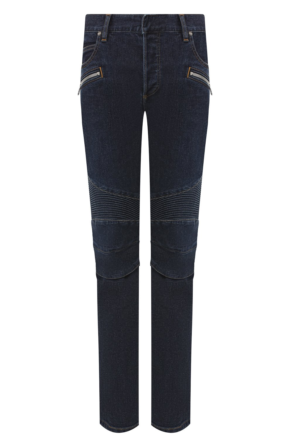 Мужские джинсы BALMAIN синего цвета, арт. SH15342/Z162 | Фото 1