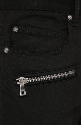 Мужские джинсы BALMAIN черного цвета, арт. SH15300/Z033 | Фото 5