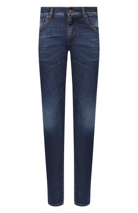 Мужские джинсы DOLCE & GABBANA синего цвета, арт. GY07CD/G8BF6 | Фото 1