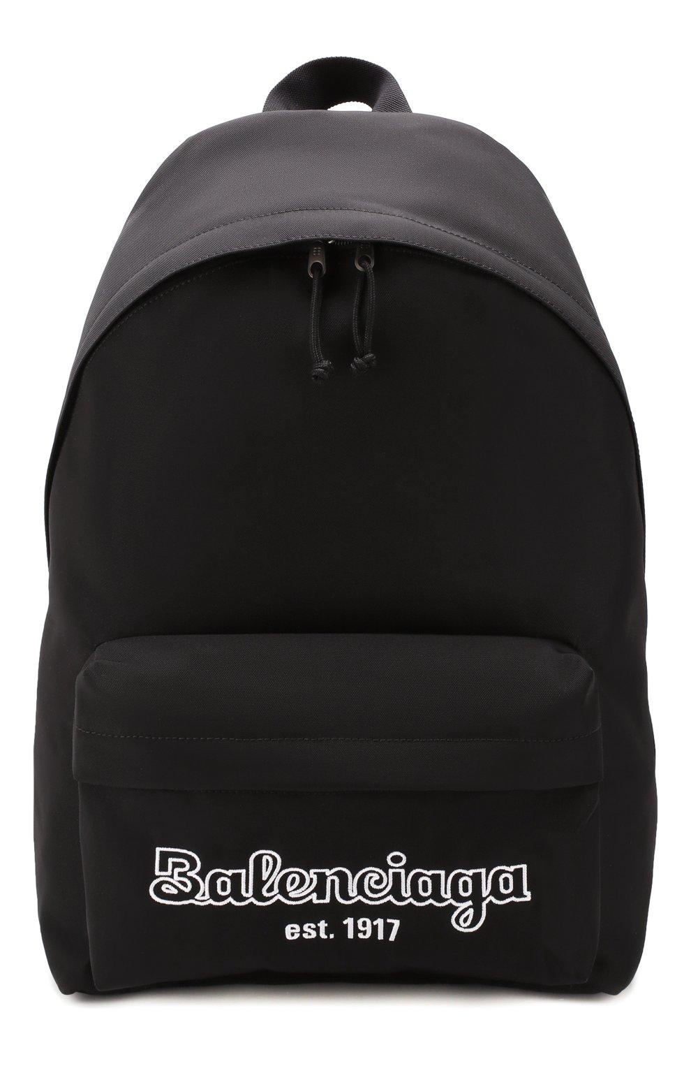 Мужской текстильный рюкзак est. 1917 explorer BALENCIAGA черного цвета, арт. 503221/9TY7R | Фото 1